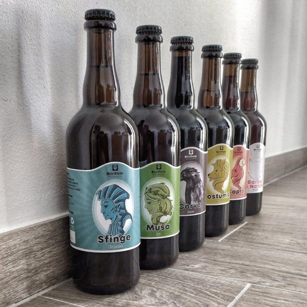 Birre in bottiglia Birrificio 17